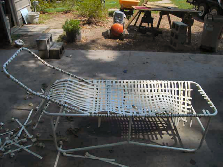 Lawnchair Before